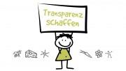 Logo Transparenz schaffen